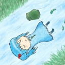 河童の背泳ぎ