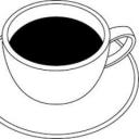 コーヒー片手に読書する放送