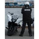 琵琶湖のほとりのバイク乗りの宇宙戦艦ドック