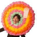 かぶれる電飾花輪プロジェクション by korotoro