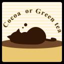 Cocoa or Green tea