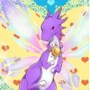 紫イケメン竜を愛するおじさん