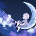 夜空に缶コーヒー☆*:.。