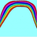虹がかける橋