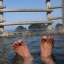 露天風呂 -温泉とか車中泊とか・・・