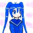 右のキャラクター・いまいち萌えない娘・今井知菜 ファンクラブ