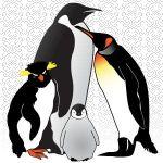 青いペンギン