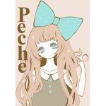 peche(*●´v|桃|