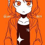 オレンジパーカーP