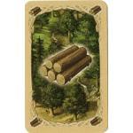 カタンの木材