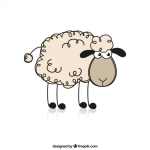 声なき羊♂