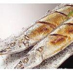 こんがり秋刀魚