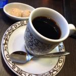 伊達眼鏡コーヒー