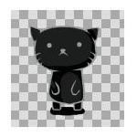 黒猫隊長。