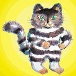 猫の肉球をぷにり隊2号
