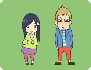 久里ちゃんと栄田さん