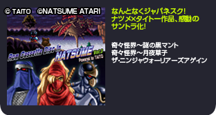 Rom Cassette Disc in NATSUME vol3 Powered by TAITO