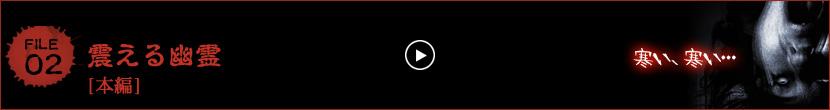 戦慄怪奇ファイル コワすぎ!FILE-02 震える幽霊