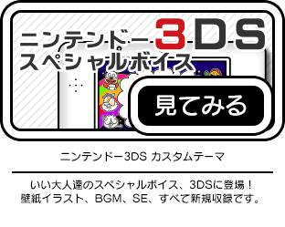 ニンテンドー3DS カスタムテーマ