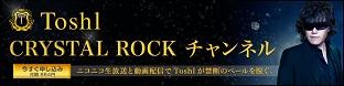 Toshl CRYSTAL ROCK CHANNEL