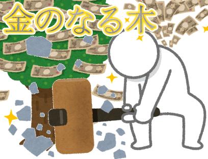 【戦闘特化型RPG】金のなる木